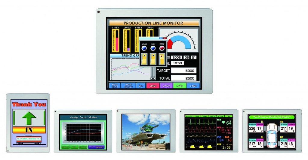 NLT TECHNOLOGIES INTRODUCES NEXT GENERATION 5.7-INCH LCD MODULES