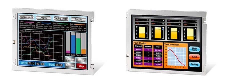 NEW TFT LCDS WITH 100,000 HOURS LONG LIFE BACKLIGHTS